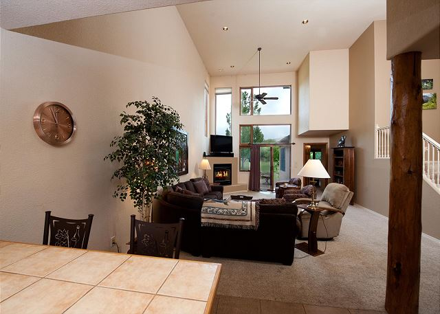 Kitchen overlook into Main Living Space