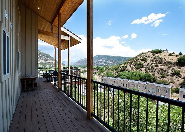 Patio with Mountain Views