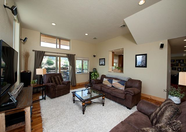Main Living Space with Awesome Views