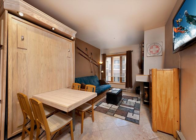 Queen Murphy Bed / Dining Table Combo