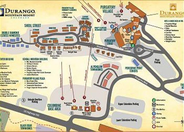 Purgatory Resort Map