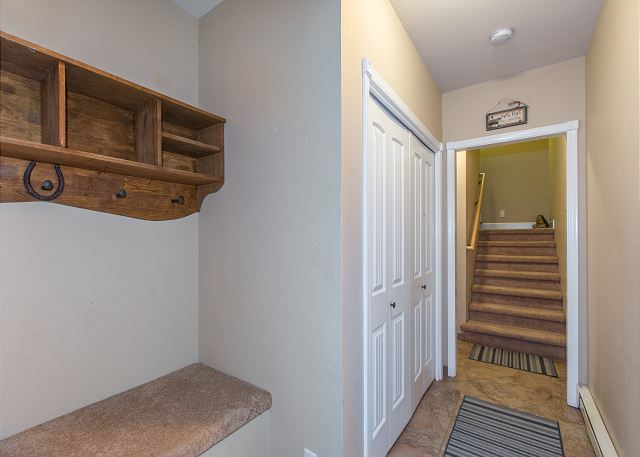 Entryway with Laundry