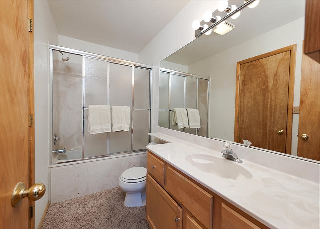 Upstairs Bathroom - Shared by Master Bedroom and 2nd Bedroom