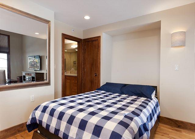 Queen Murphy Bed off Living Area