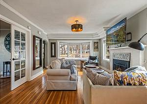 Private Home Walking Distance to Lake Coeur d'Alene- Adjacent to City Park