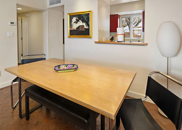 Dining for 6 or set up an at-home workstation