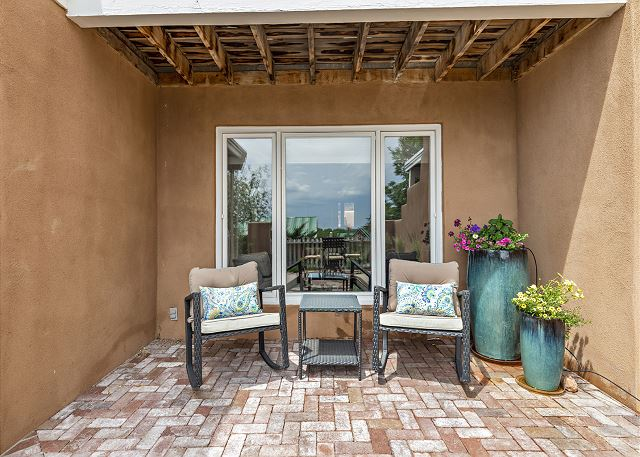 covered patio in front