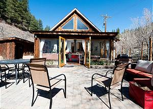 Secluded Cabin on Creek - 4 miles from downtown Durango - Gas Firepit