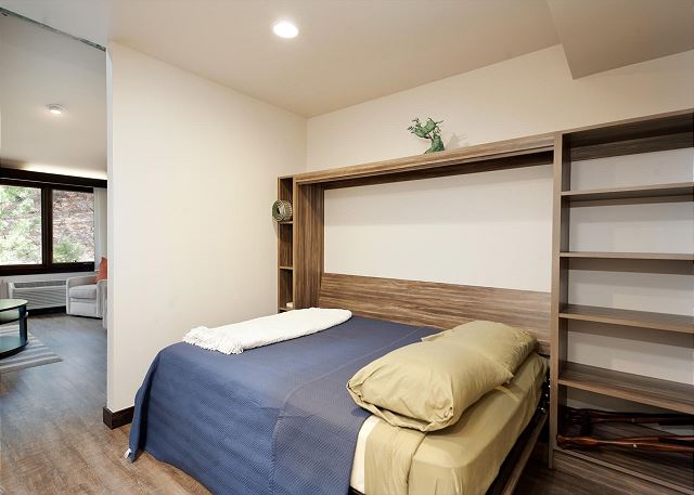Double Murphy Bed on Main Level