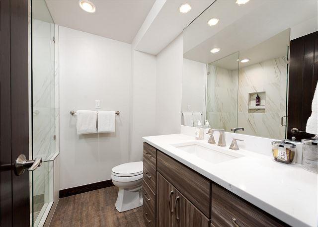 Full Bathroom with Walk-In Shower