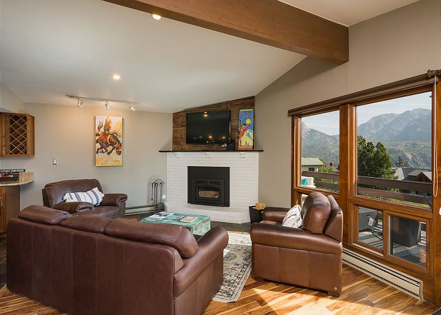 Main Living Space - With Views