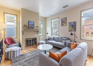 New Listing! Heart of Downtown Ouray - A/C! - Pet Friendly - Private Patio