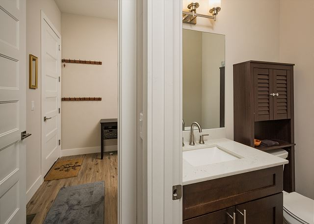 1/2 Bathroom of Main Living Space