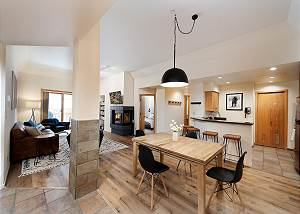 Newly remodeled Village Center Ski in/Out Condo