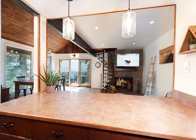 Kitchen overlook
