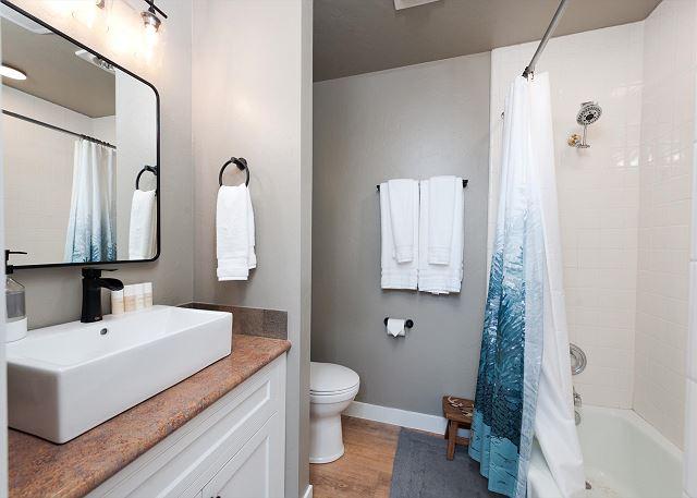 Main Floor Bathroom - Adjacent to the Master Bedroom