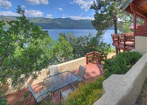 Waterfront Cabin on the Lake - 3 BR - Right on Vallecito Lake