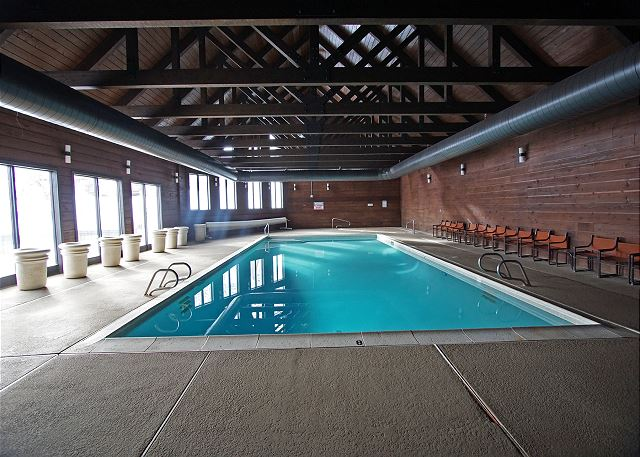 Communal pool located in Benchmark building.