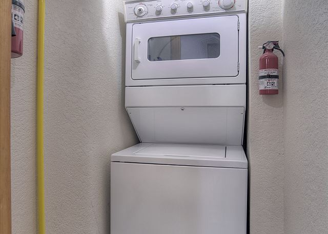 Washer/Dryer in the condo