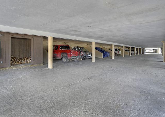 Underground assigned parking