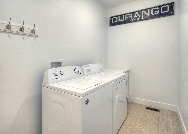 Washer/Dryer (Laundry Detergent Provided)