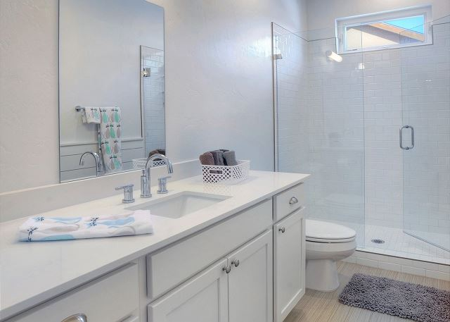 2nd Bathroom - Shared by the 2nd and 3rd Bedrooms