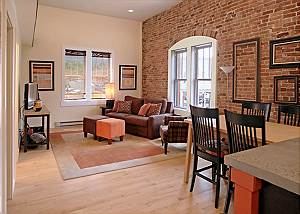Updated Condo in the Historic Jarvis Building - Downtown Durango