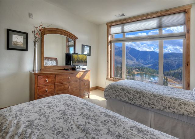 2nd Bedroom - 2 Twins, TV and more views