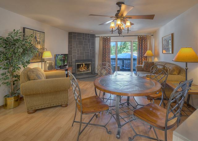 Main Living and Dining Spaces