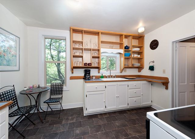 Kitchen and bistro table