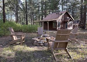Pet Friendly Cabin on 3.5 acres between Durango and Purgatory - Fire Pit