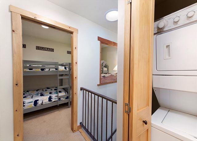 Washer/Dryer adjacent to the 3rd bedroom