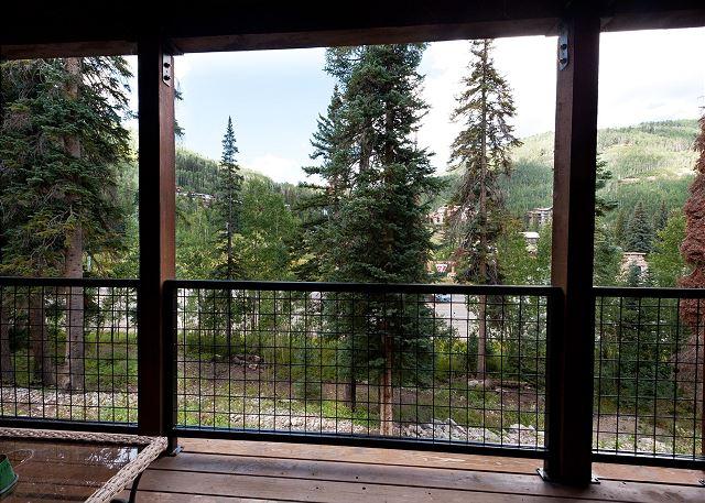 Views of Purgatory Ski Resort from the Main Deck