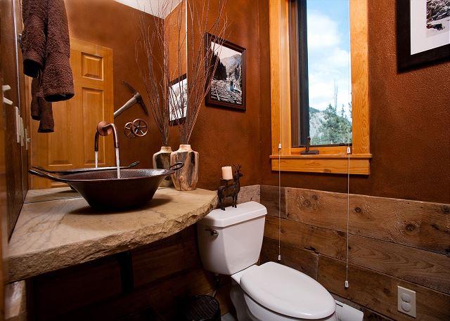 1/2 Bath off Kitchen/Main Living Space