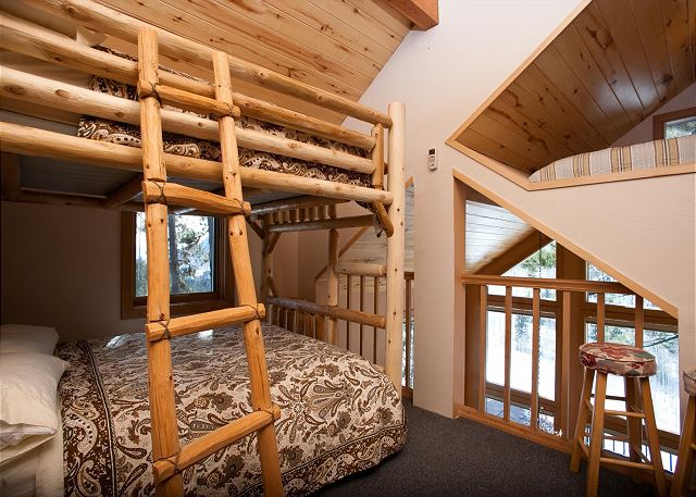 3rd Bedroom (Loft) - Bunk Bed (Double over Double)