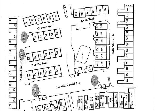DMBC Complex Map - West Side