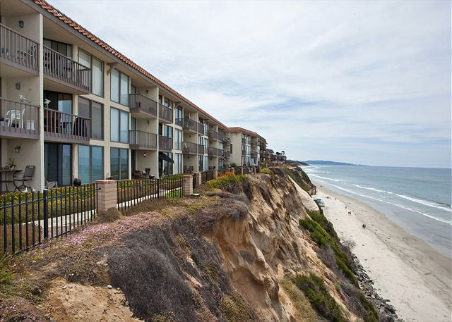 Complex sits atop oceanfront bluff