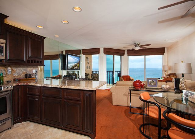 Great views from living room/dining and kitchen