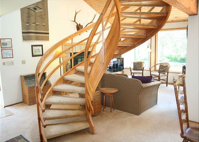 Spiral Staircase adds style and character