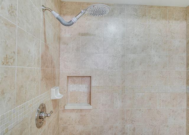 Condo 124 - Master Bath Shower