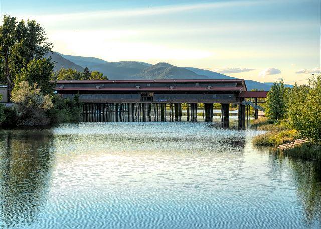 Sandpoint, Idaho - Cedar Street Public Bridge