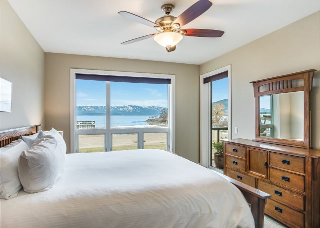Condo 124 - Master Suite with Lake View