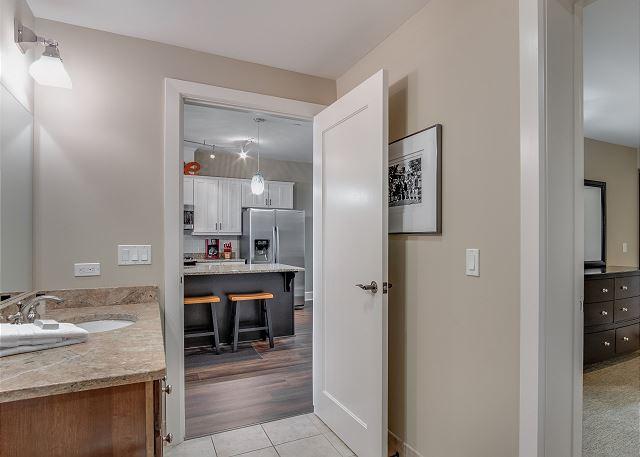 Condo 124 - Guest Bathroom