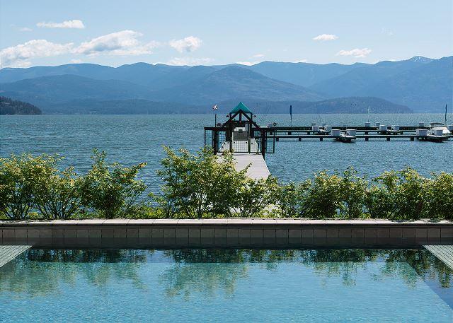 Seasons at Sandpoint - Pool Views