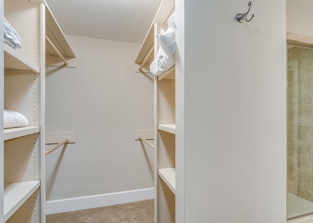 Condo 124 - Master Walk in Closet