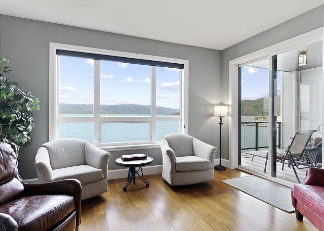 Condo 7205 - Living Room and Private Balcony