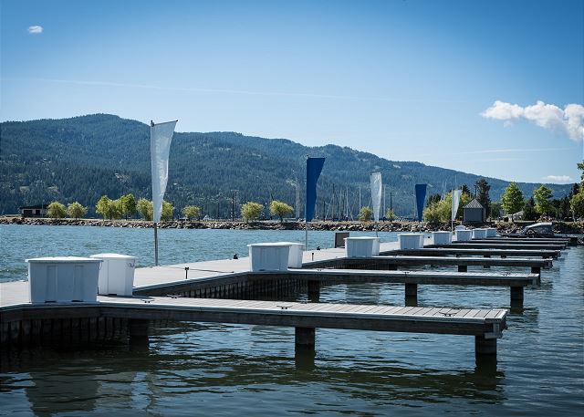Seasons at Sandpoint - Private Fixed Docks Available for Rent when Staying on Property.