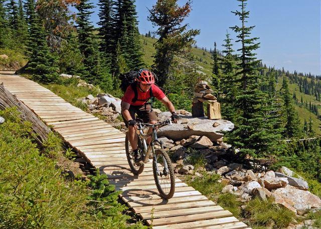 Sandpoint, Idaho - Area Mountain Biking Trails
