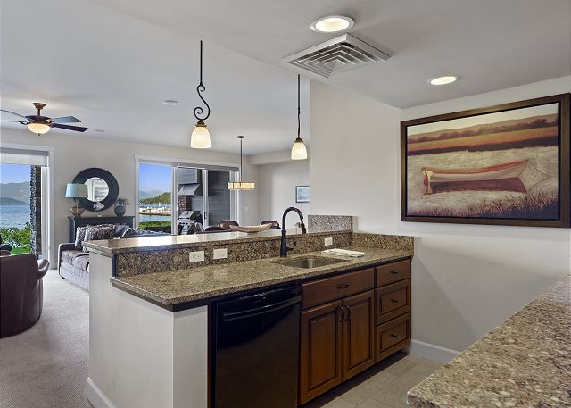 Townhome 508 - Entertaining Space