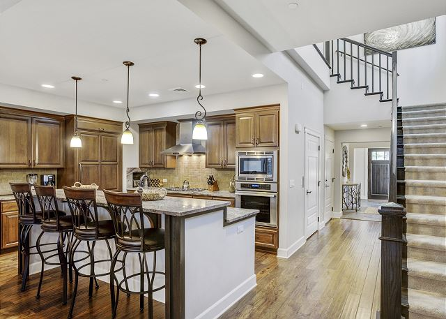 Townhome 508 - Kitchen and Hallway